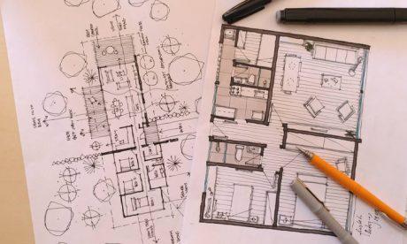 curso de planta arquitetônica