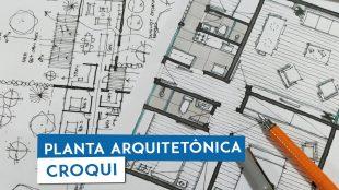 aprenda a desenhar planta arquitetônica